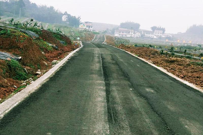 牟坪鎮公路建設
